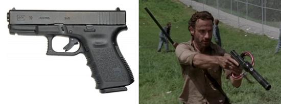 ウォーキングデッド 銃